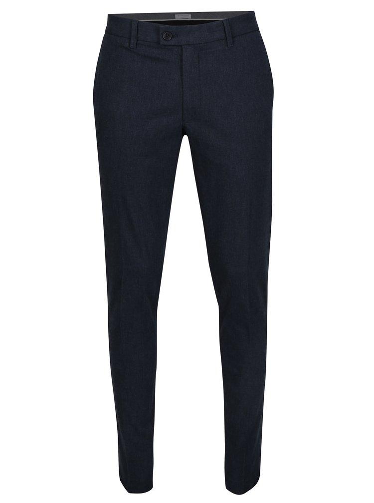 Tmavě modré skinny chino kalhoty Selected Homme Gale
