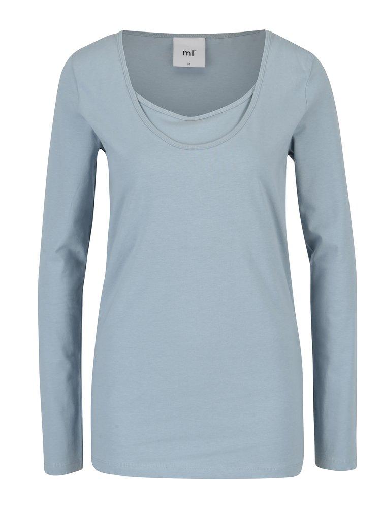 Sada dvou kojicích triček v modré barvě Mama.licious Lea
