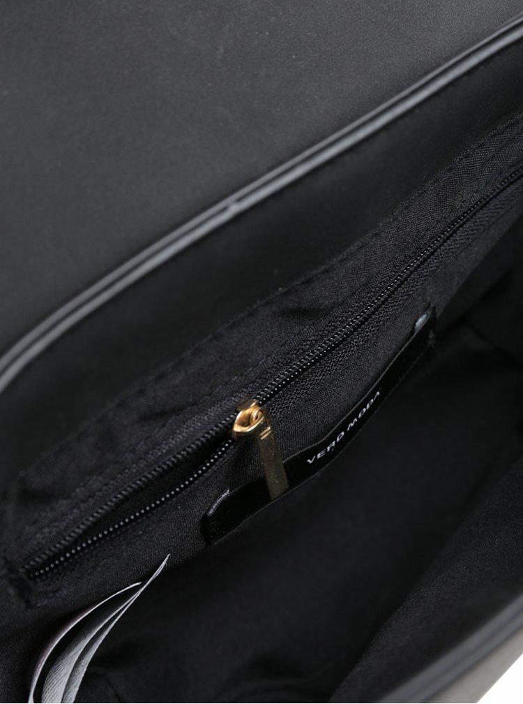 Černá crossbody kabelka v semišové úpravě VERO MODA Rina