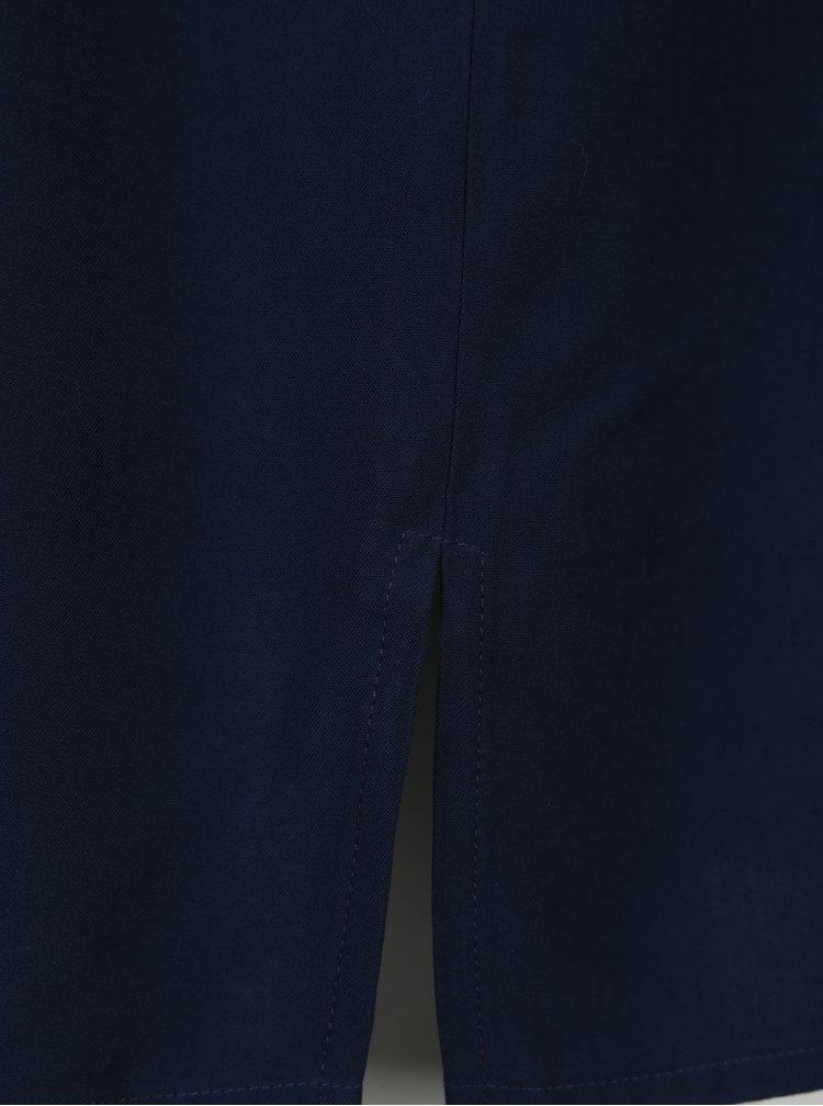 Modré košilové šaty Ulla Popken