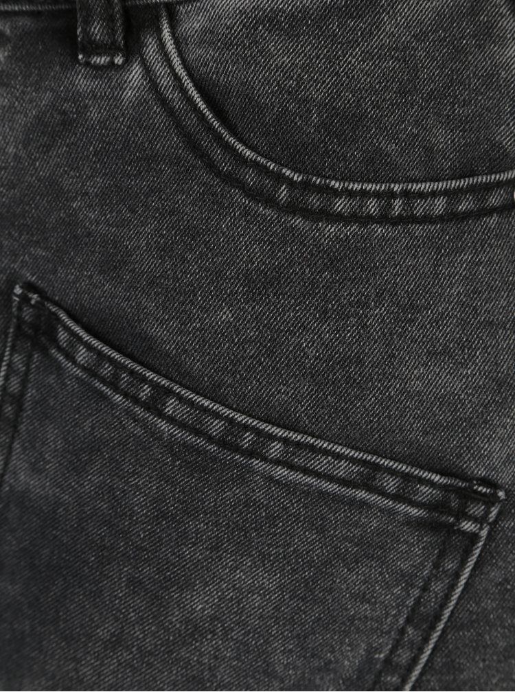 Černá džínová sukně Noisy May Sophia