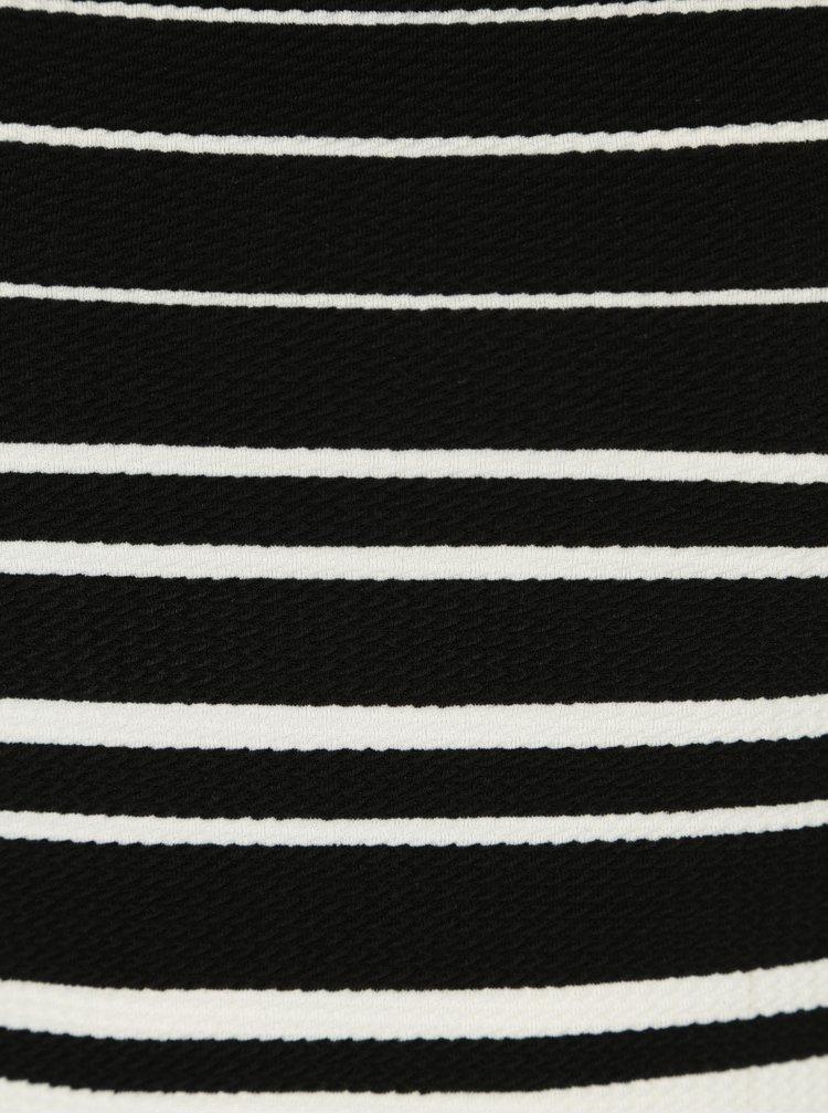 Bílo-černé pruhované body Noisy May Lina