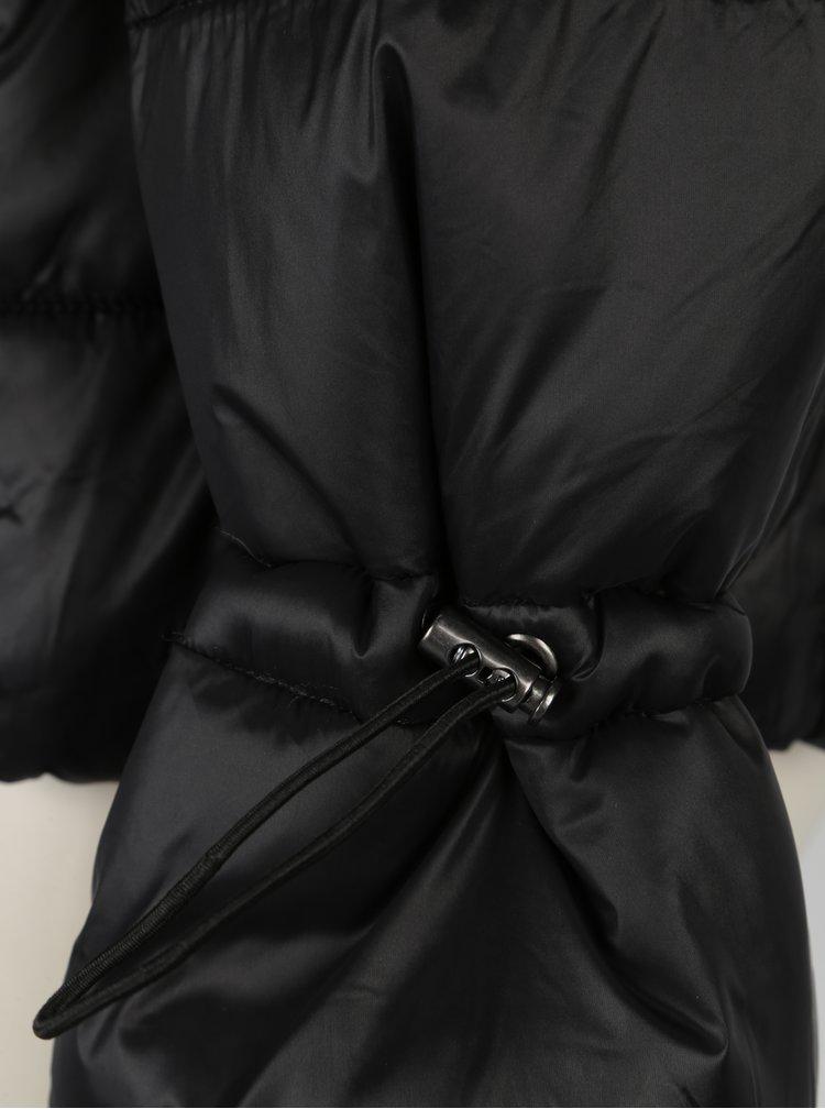 Černá zimní prošívaná bunda VERO MODA Ramona