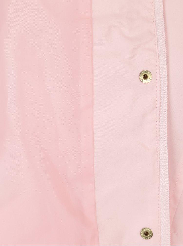 Jacheta parka roz pal cu gluga VERO MODA Pernille