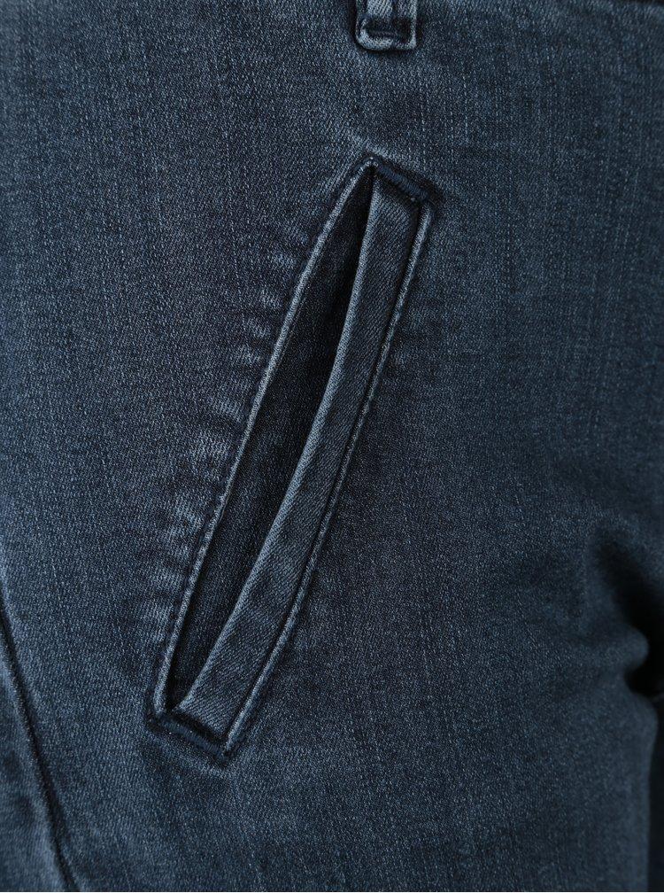 Tmavě modré slim fit džíny VERO MODA Victoria