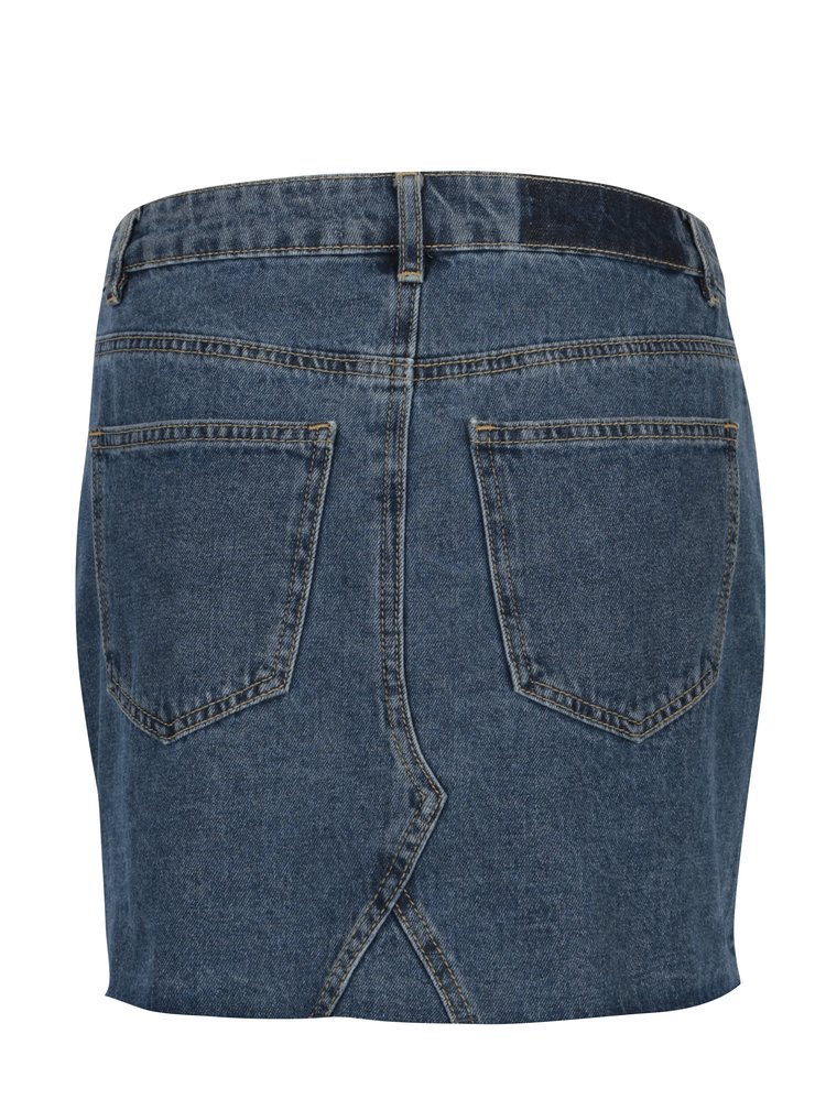 Fusta mini albastra din denim VERO MODA Molly