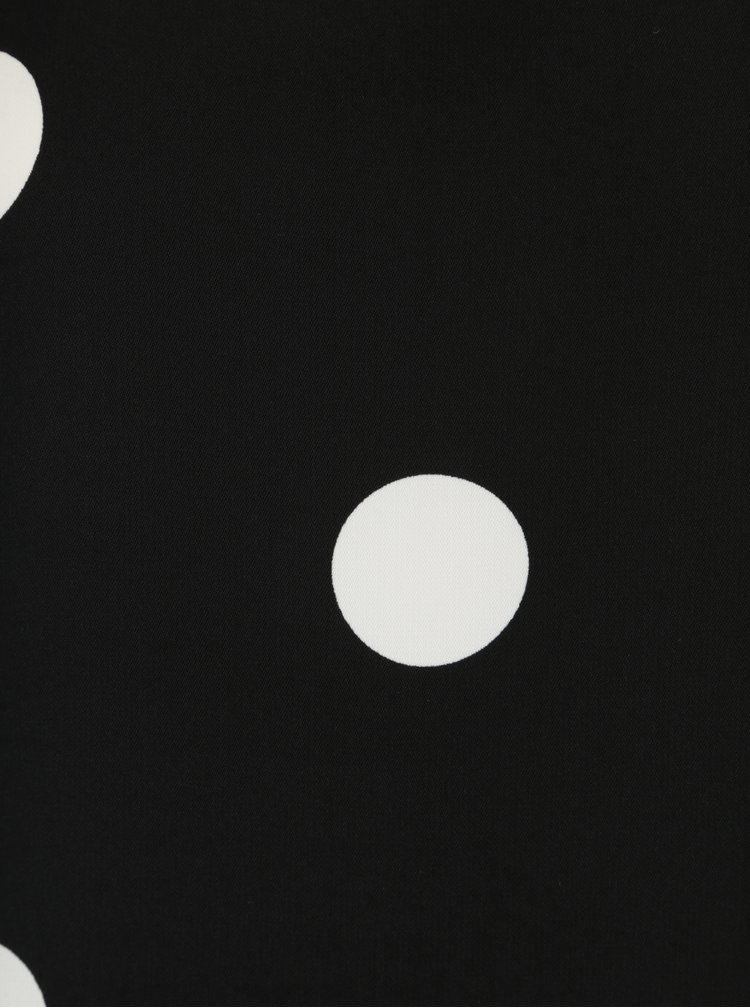 Černé puntíkované šaty VERO MODA Dot