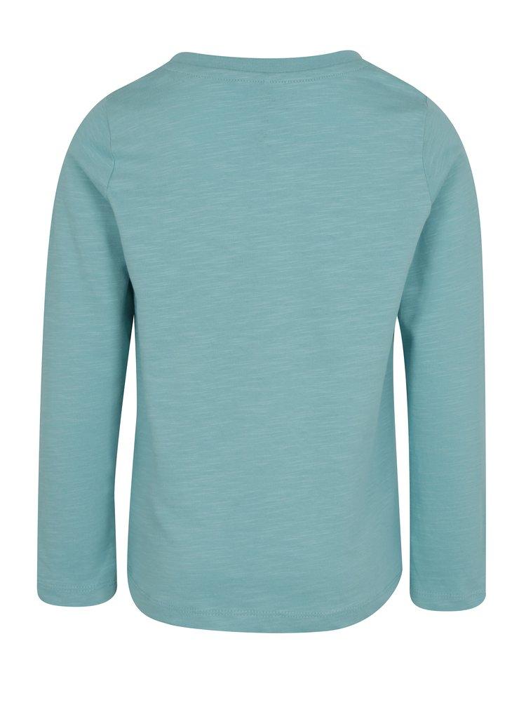 Světle modré klučičí tričko s potiskem name it Jejur