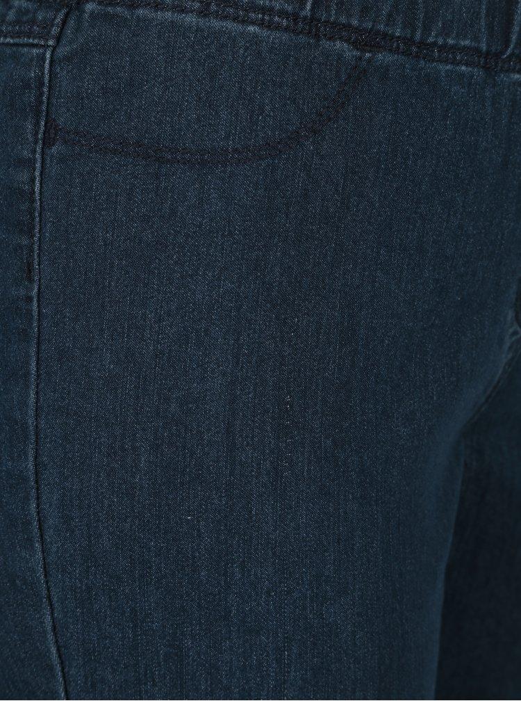 Tmavě modré zkrácené slim fit jegging Gina Laura