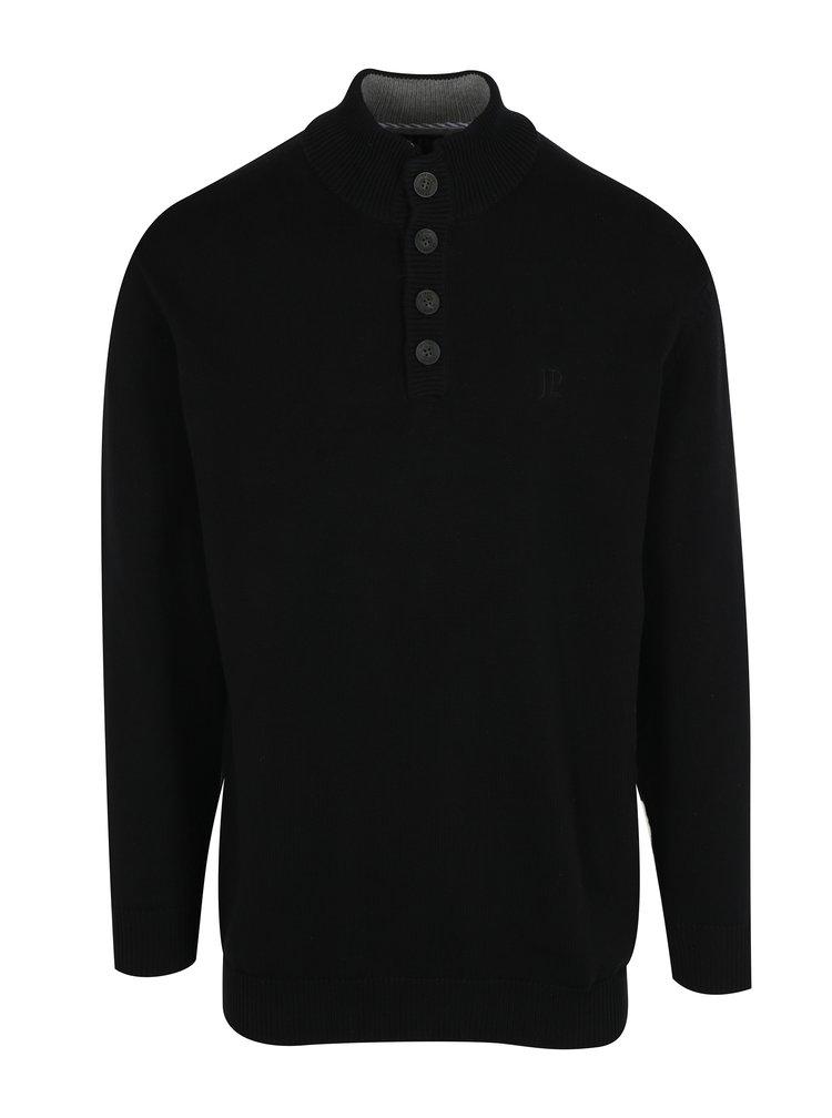 Černý svetr s knoflíky JP 1880