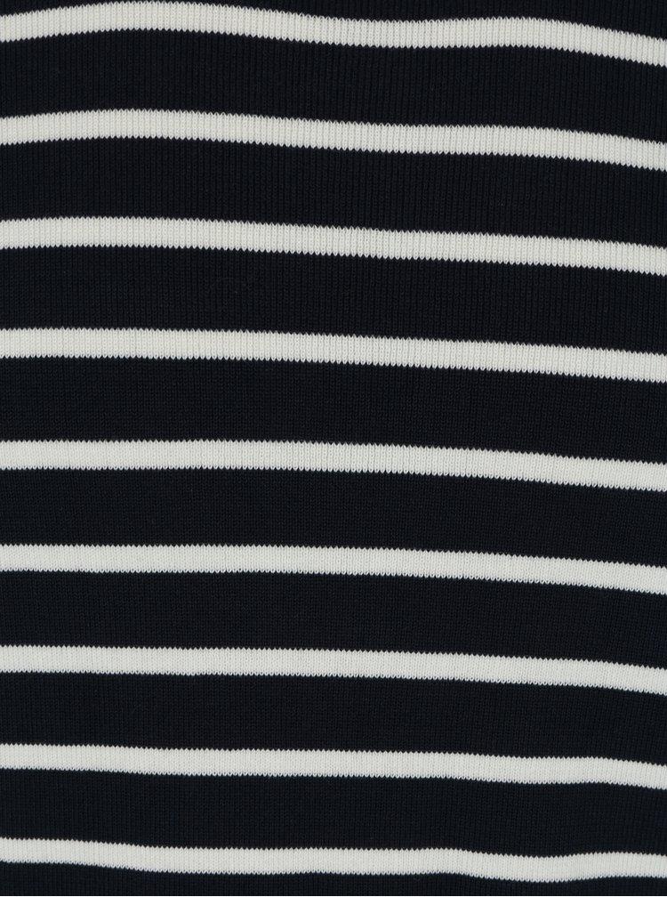 Tmavě modrý pruhovaný svetr Selected Homme Sailor
