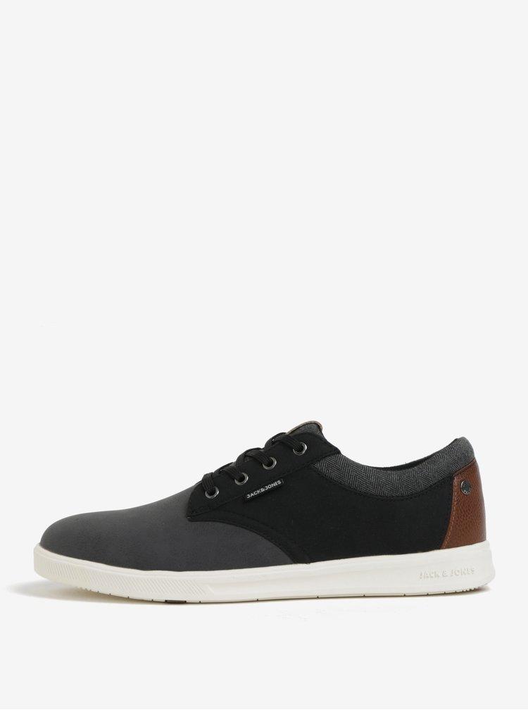 Pantofi sport negru & gri - Jack & Jones Gaston