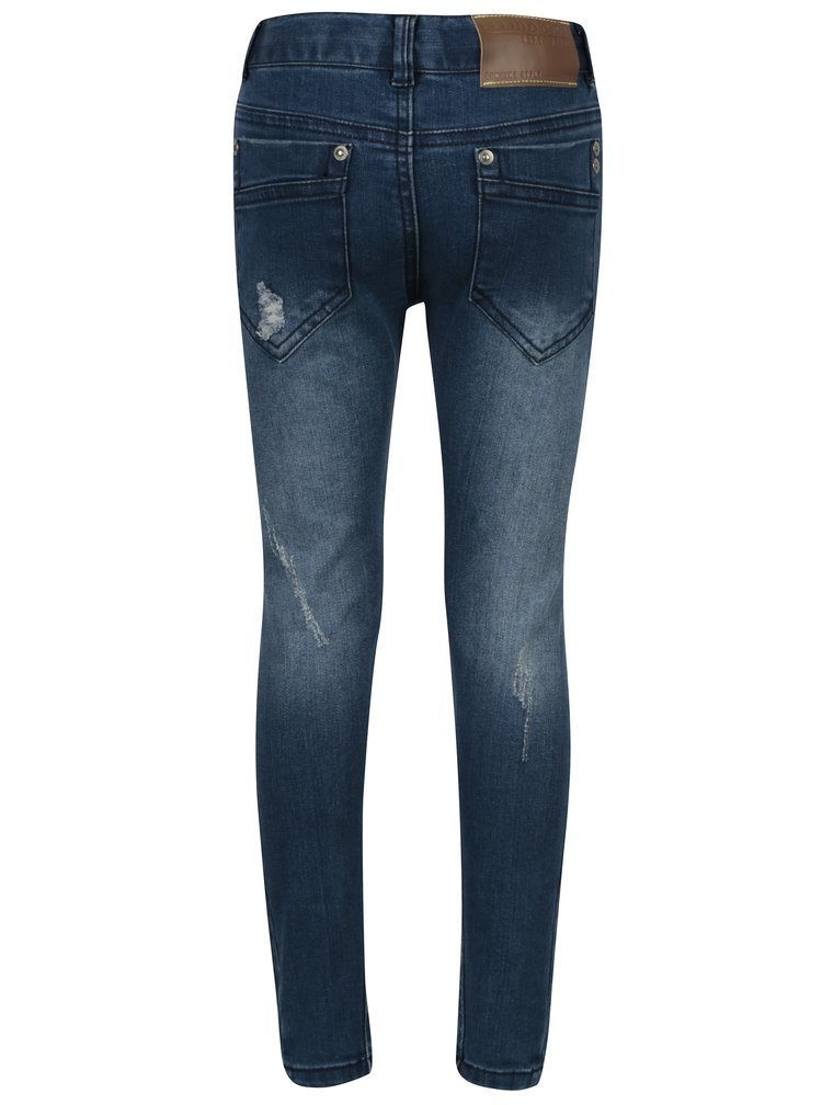 Modré klučičí džíny s potrhaným efektem Bóboli