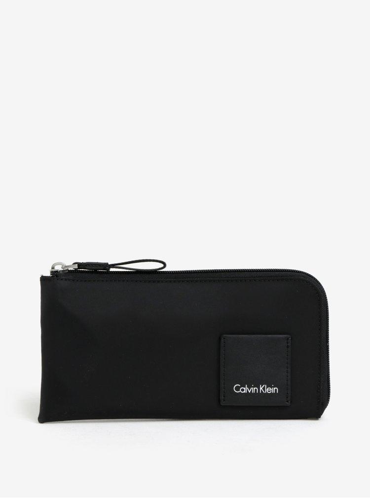 Čierna unisex peňaženka Calvin Klein Jeans Fluid