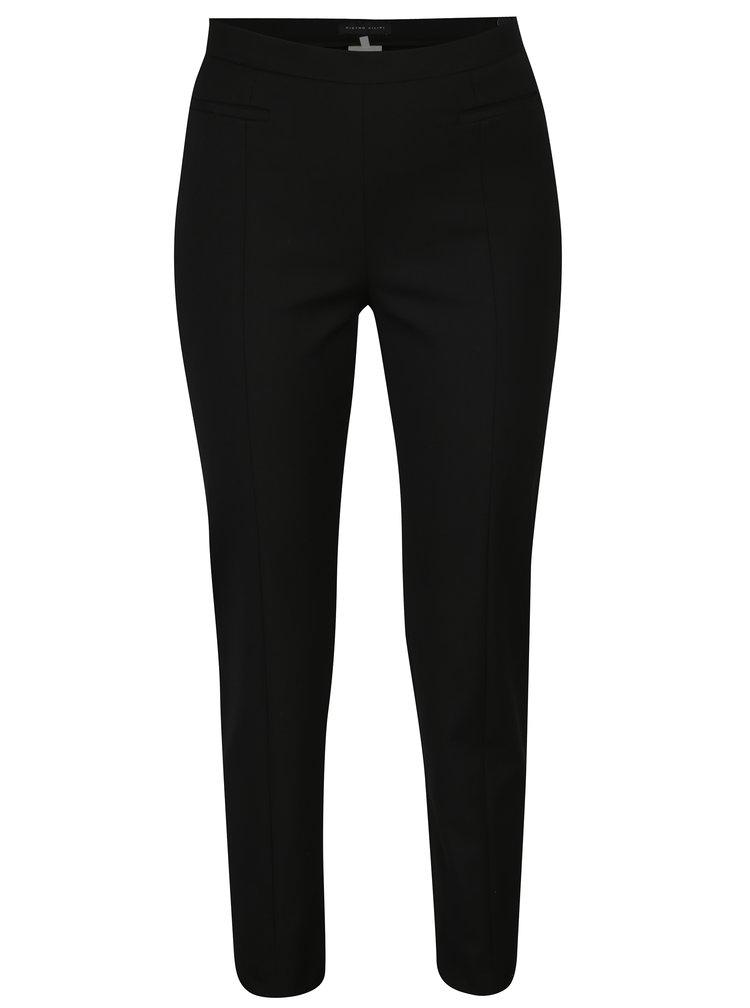Černé dámské kalhoty s kapsami Pietro Filipi