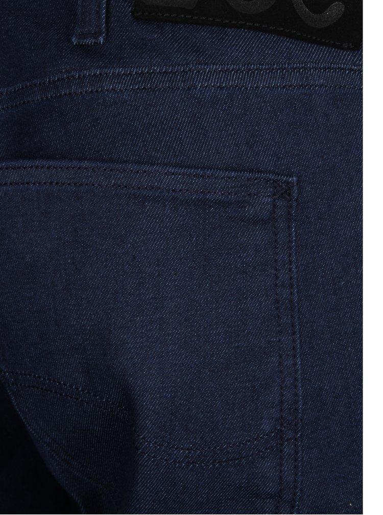 Modré pánské slim džíny Lee Luke Rinse