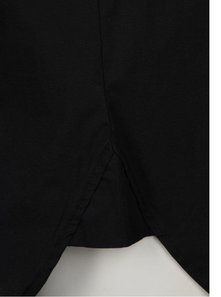 Černá dlouhá košile Jacqueline de Yong Annie