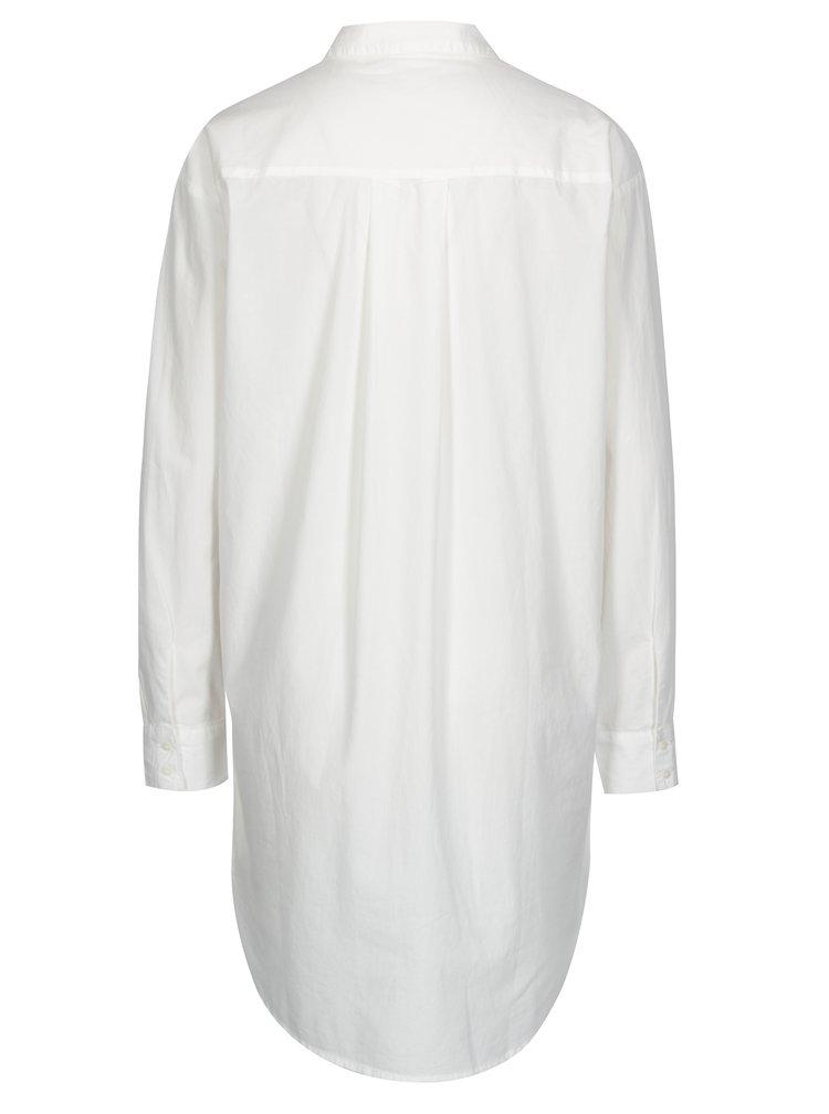Krémová dlouhá košile Jacqueline de Yong Annie