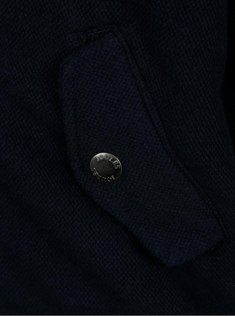 Tmavě modrý klučičí oboustranný bomber Tom Joule Kenickie