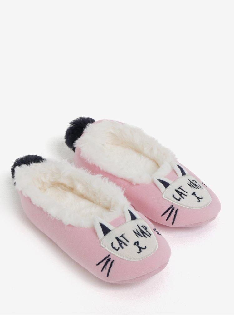 Růžové holčičí papuče Tom Joule Dreama