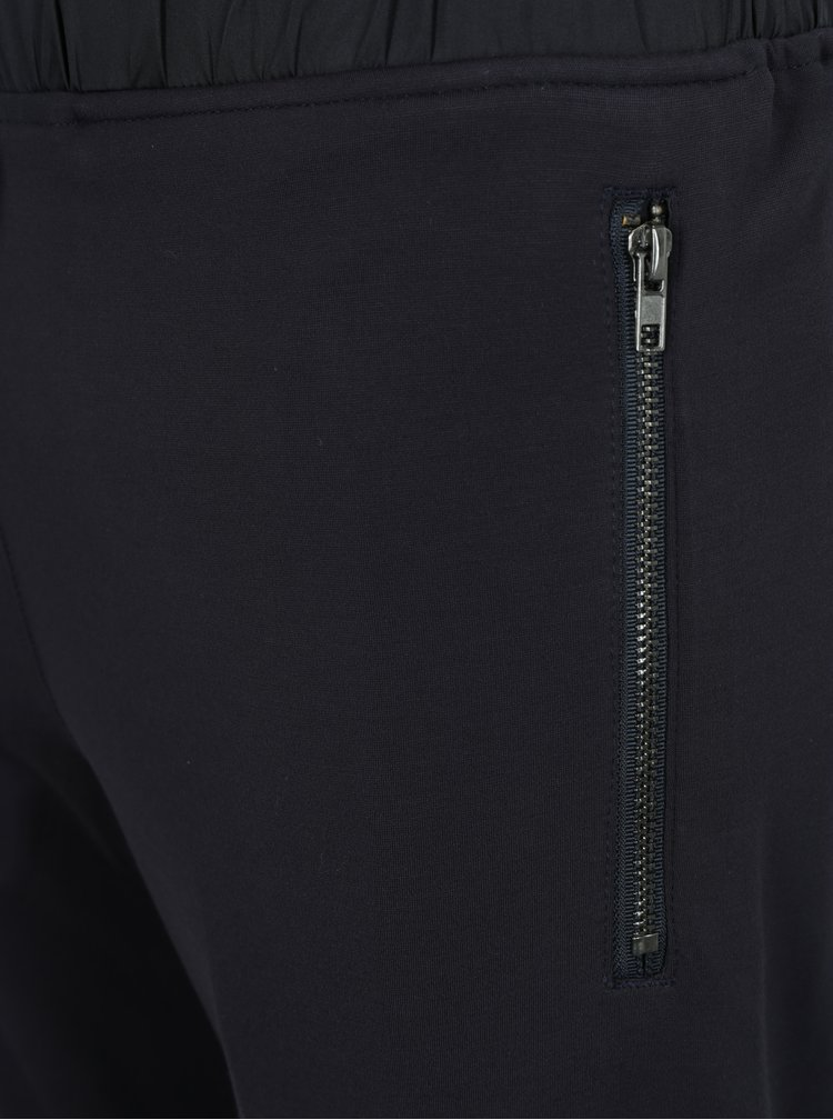 Pantaloni sport bleumarin cu snur in talie - Lindbergh