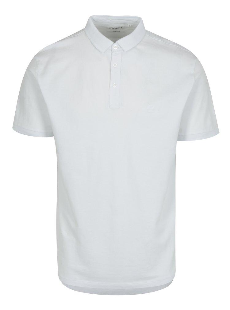 Bílé pánské polo tričko Lindbergh