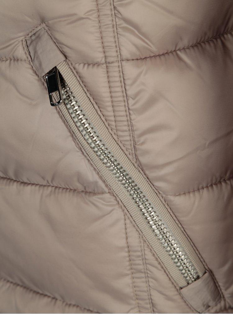 Béžová dámská prošívaná bunda s.Oliver