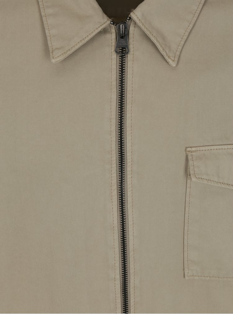 Béžová lehká bunda Shine Original