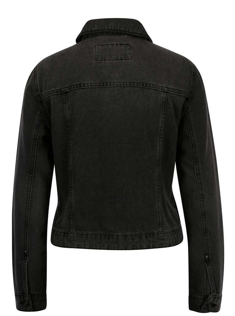 Tmavě šedá džínová bunda ONLY Westa