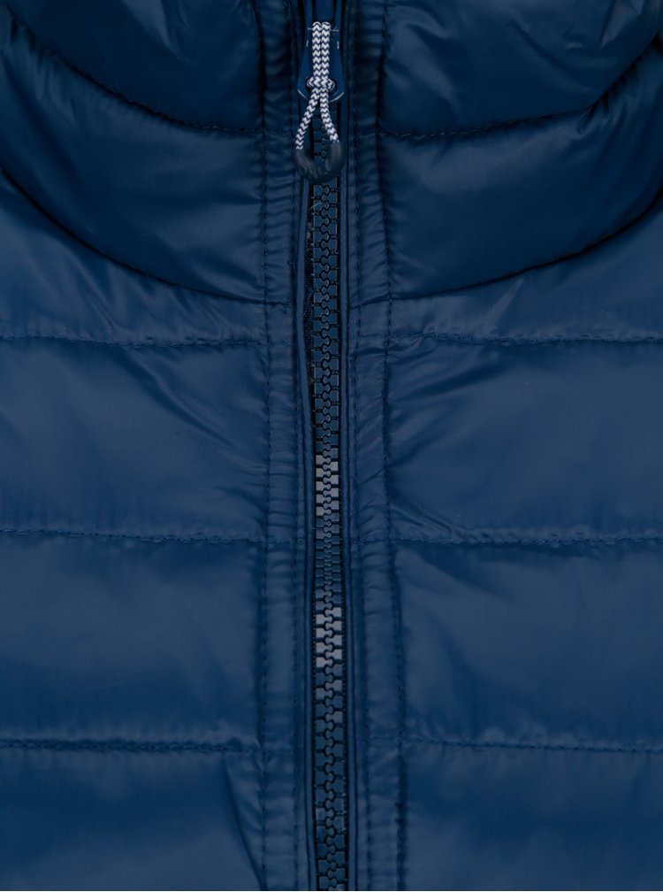 Modrá prošívaná bunda ONLY Tahoe