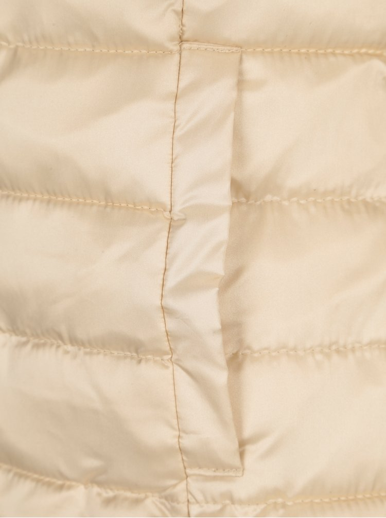 Béžová prošívaná bunda ONLY Tahoe