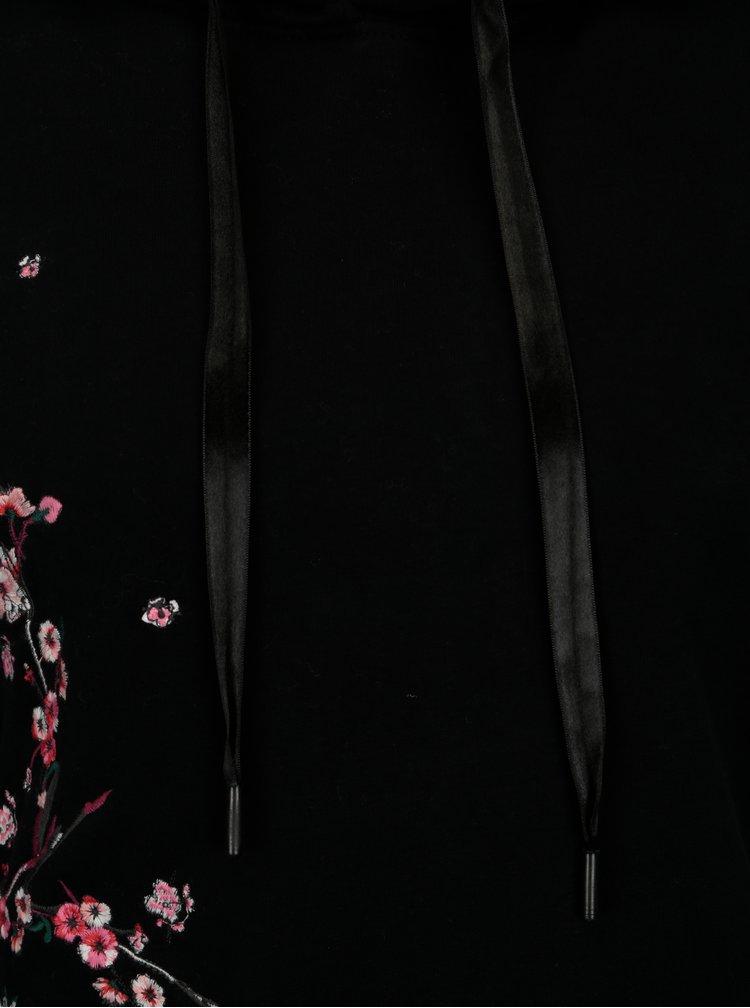 Černá mikina s výšivkou ONLY Sanne
