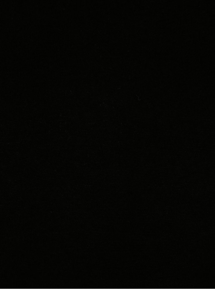 Černá mikina s balónovými rukávy ONLY Absolute