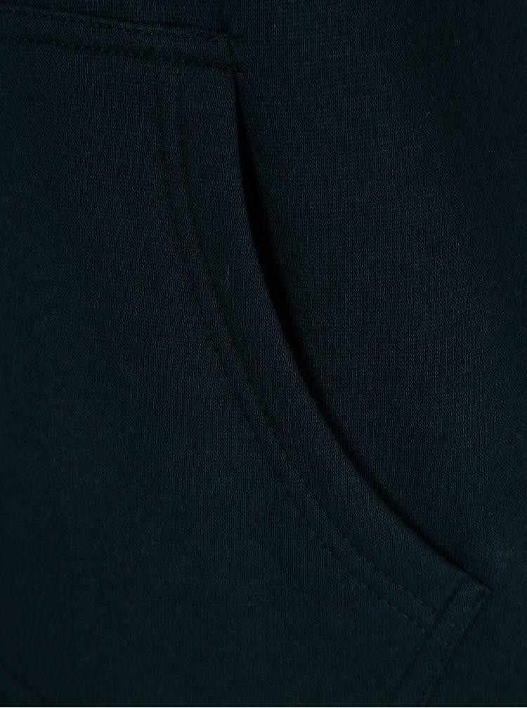 Modrá dlouhá mikina s kapucí ONLY Absolute