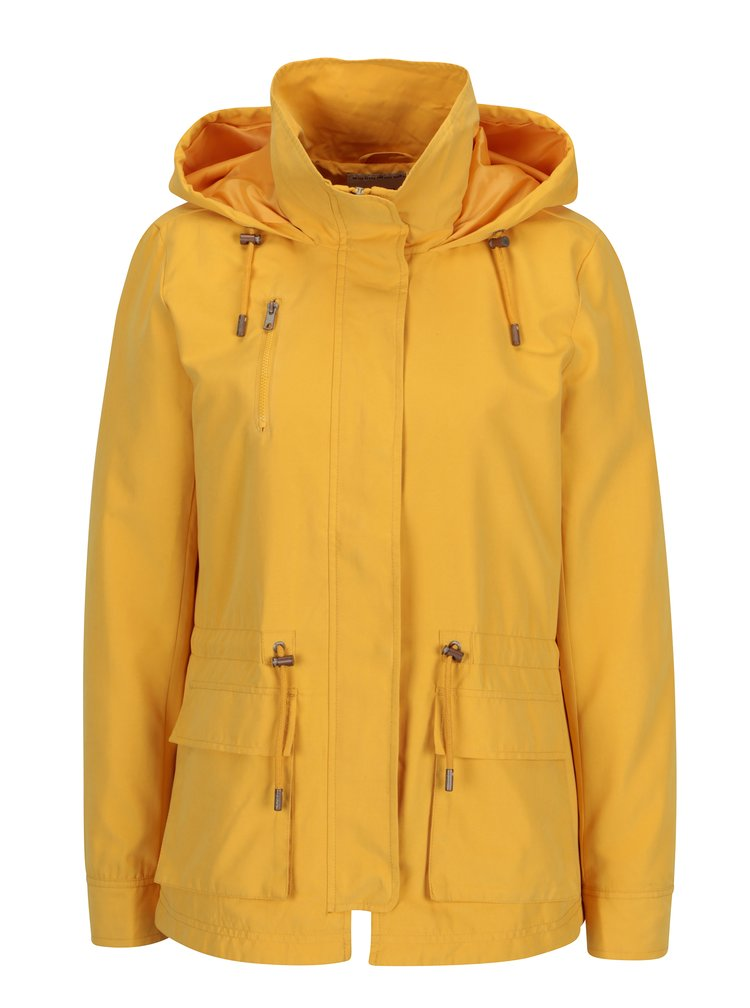 Žlutá lehká bunda s kapucí ONLY Starlight