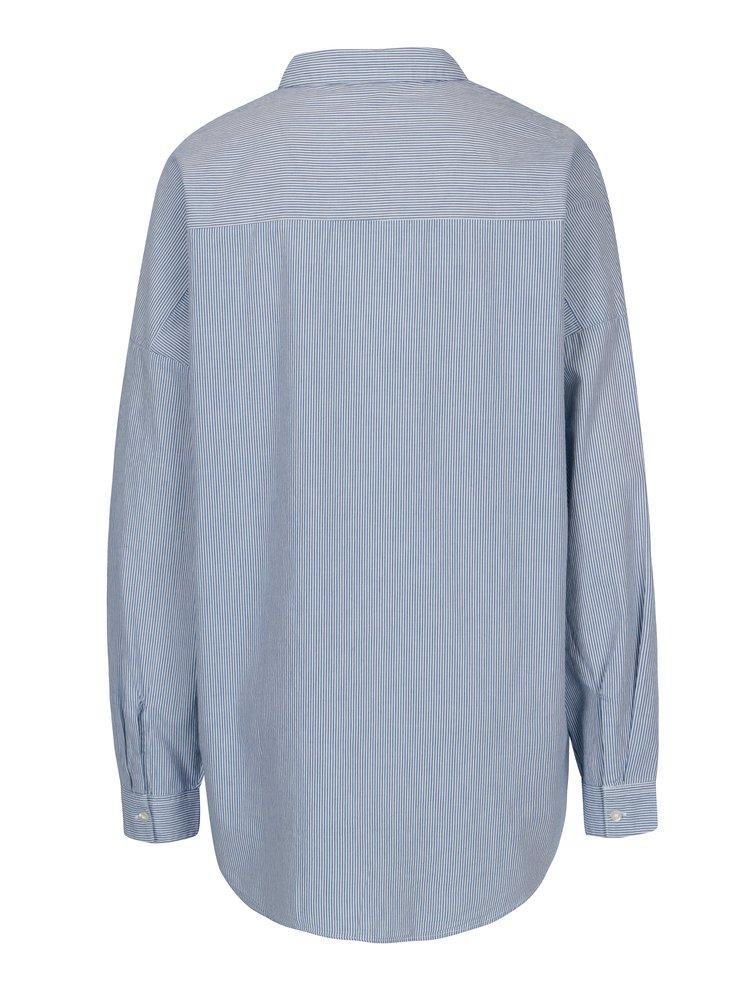 Bílo-modrá pruhovaná košile ONLY Joline