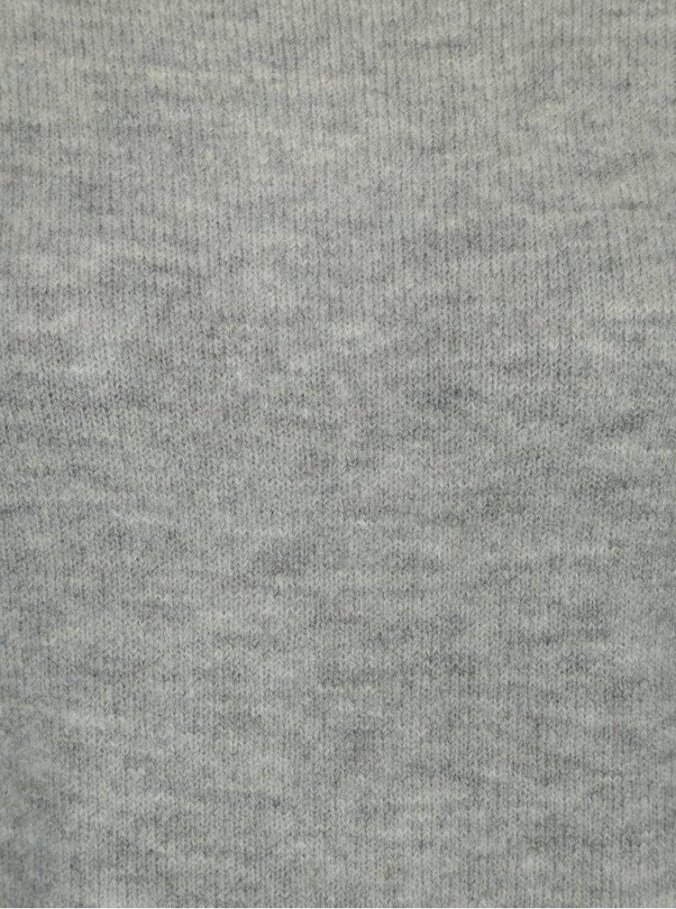 Šedý svetr s průstřihy na zádech Dorothy Perkins