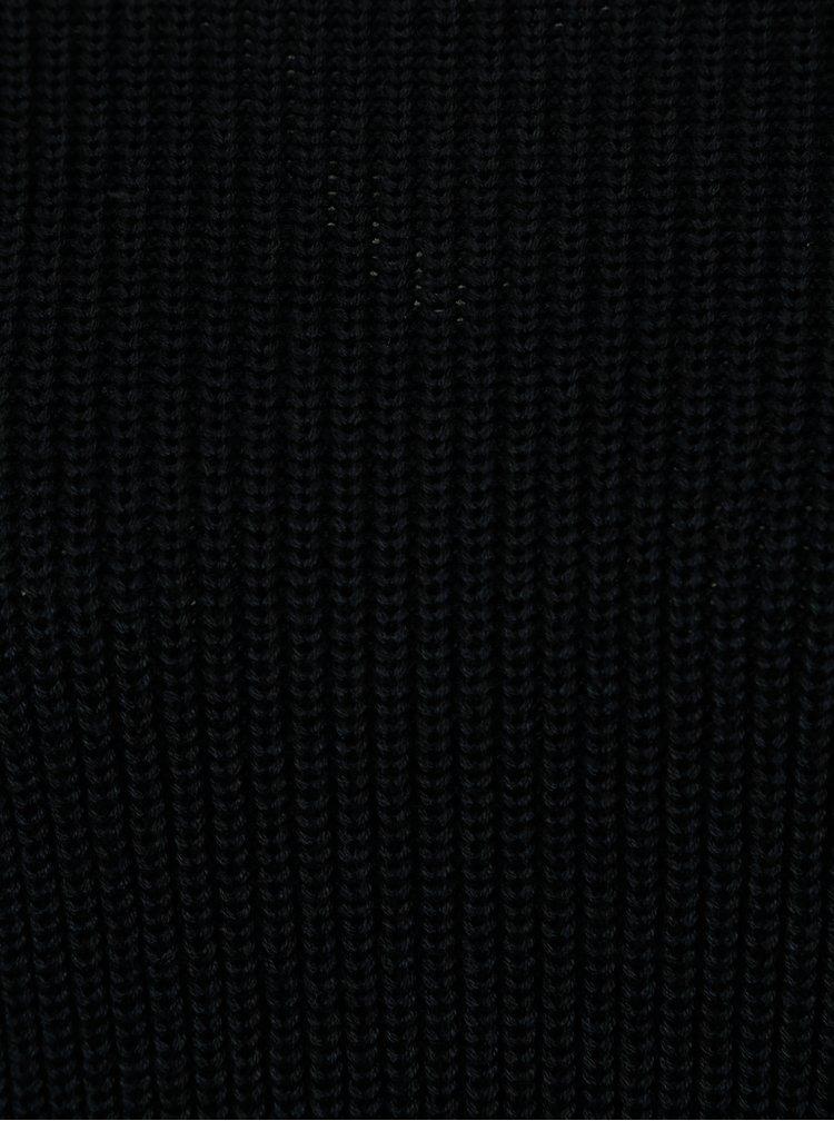 Tmavě modrý svetr s výstřihem na zádech Dorothy Perkins