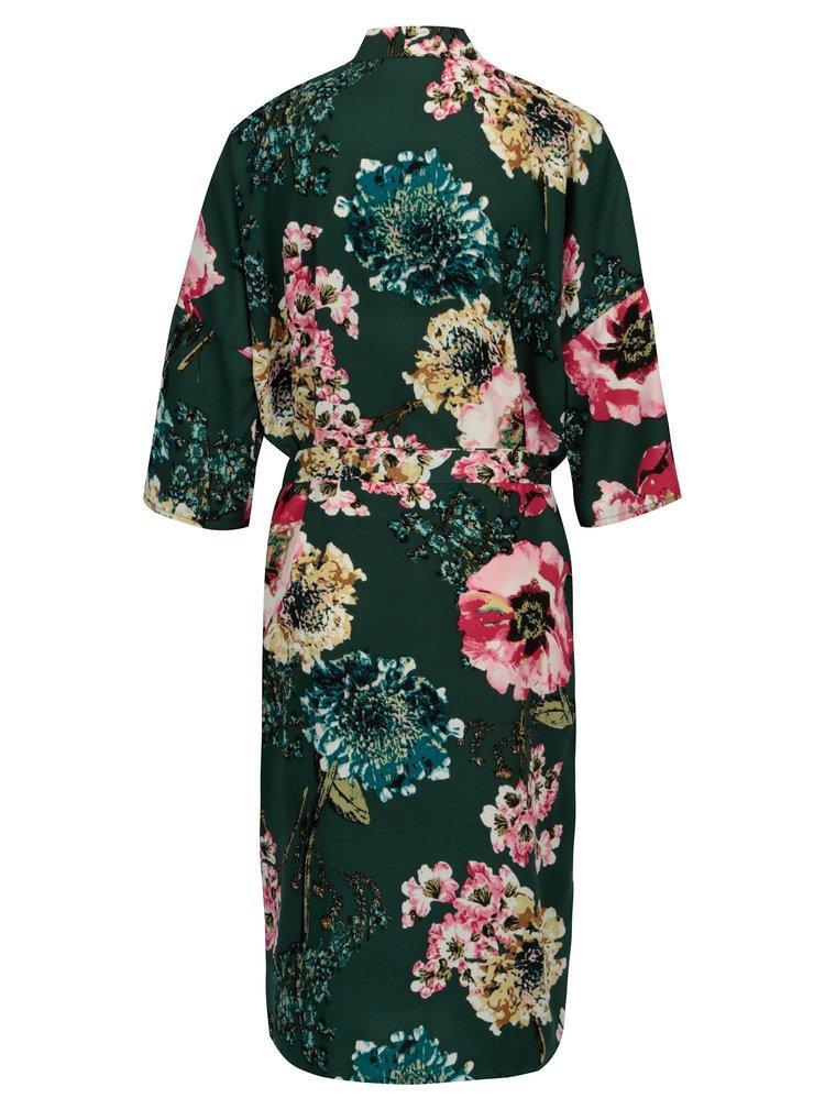 Zelené květované kimono ONLY Katehrine