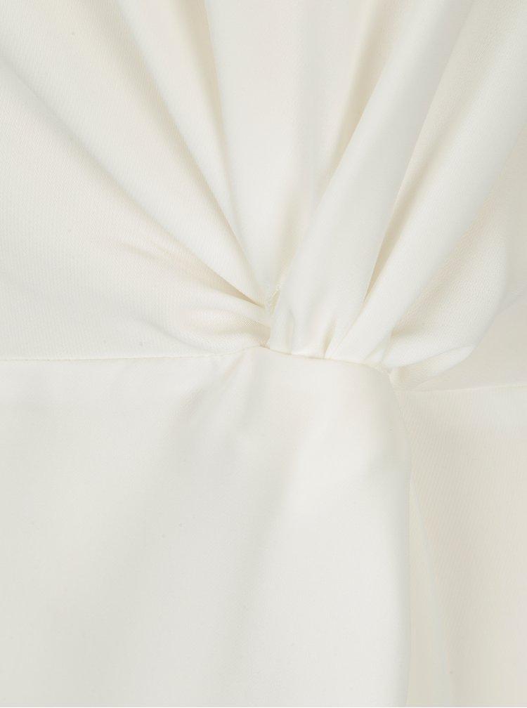 Krémová halenka s ozdobným uzlem Dorothy Perkins