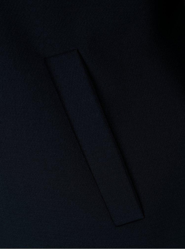 Tmavě modré sako s vzorovanou podšívkou ONLY Cafe