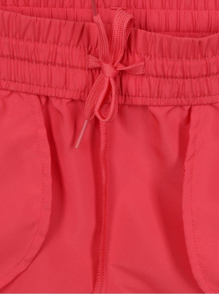 Růžové holčičí kraťasy Puma