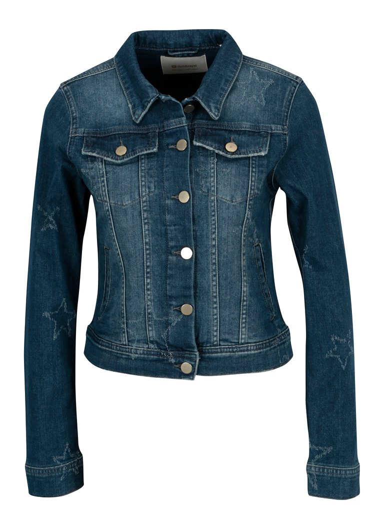 Modrá džínová bunda Rich & Royal