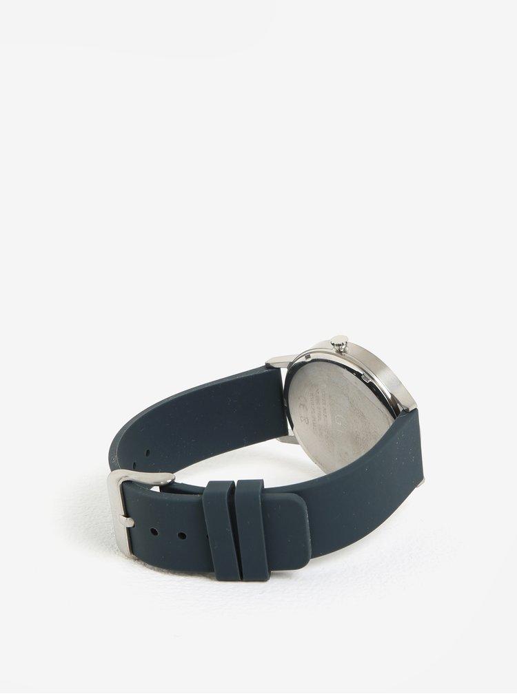 Dámské hodinky s tmavě šedým silikonovým páskem Pilgrim Aurelia