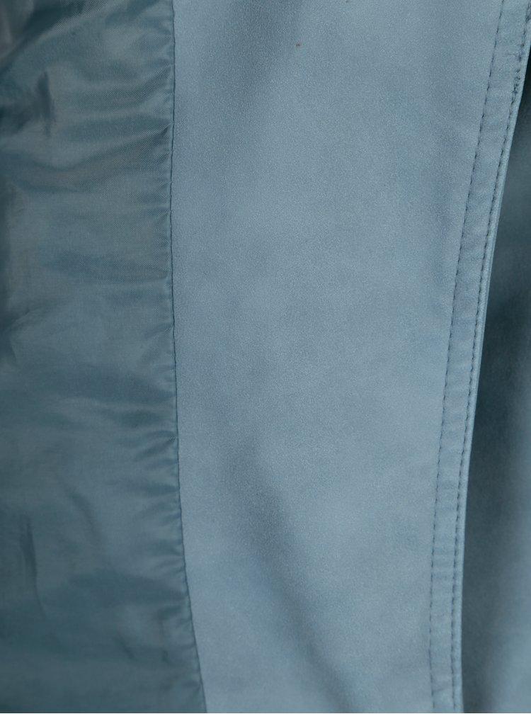 Modrá koženková bunda ONLY Ava