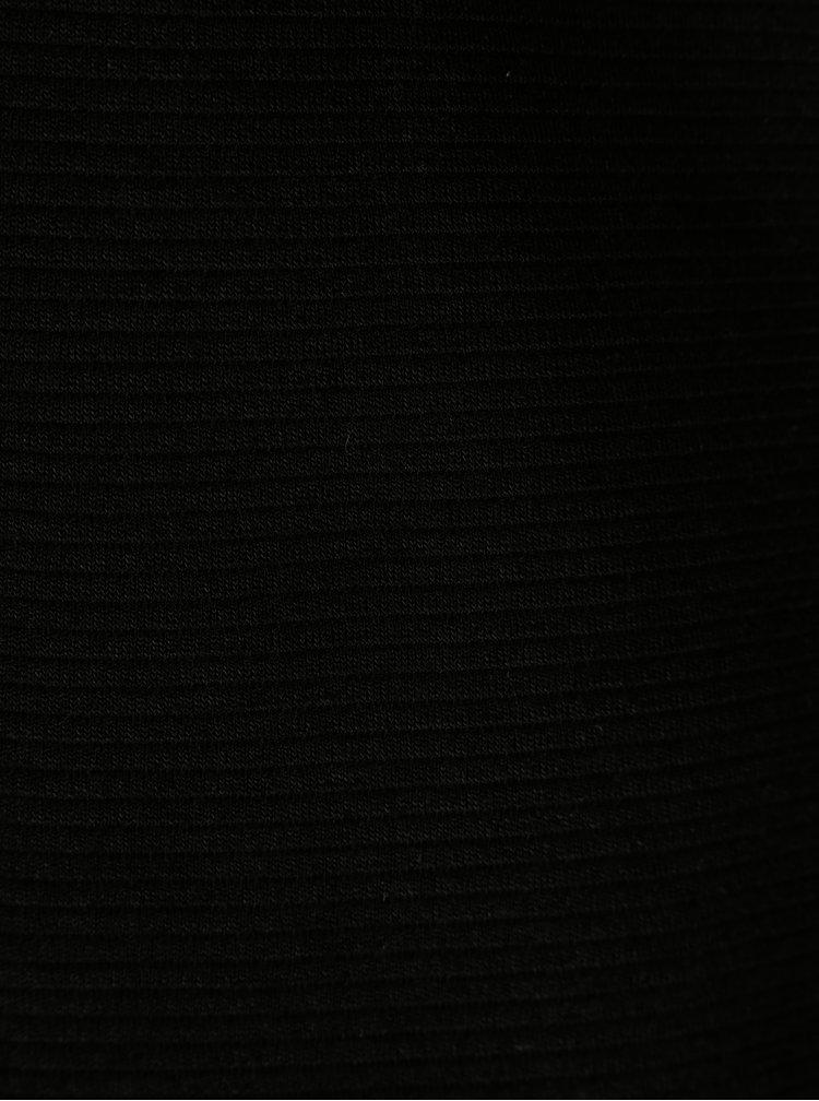 Černý žebrovaný kardigan VERO MODA Paris