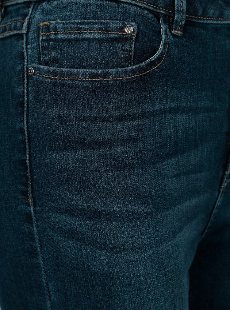 Tmavě modré slim džíny VILA Steem