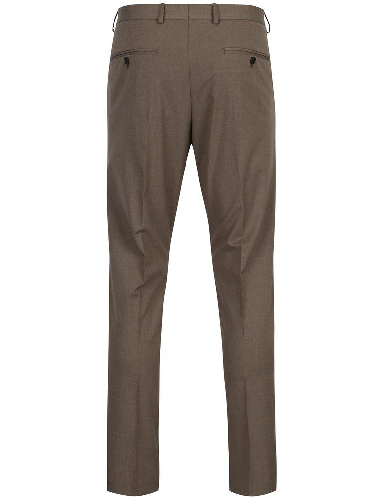 Hnedé oblekové nohavice Selected Homme New one