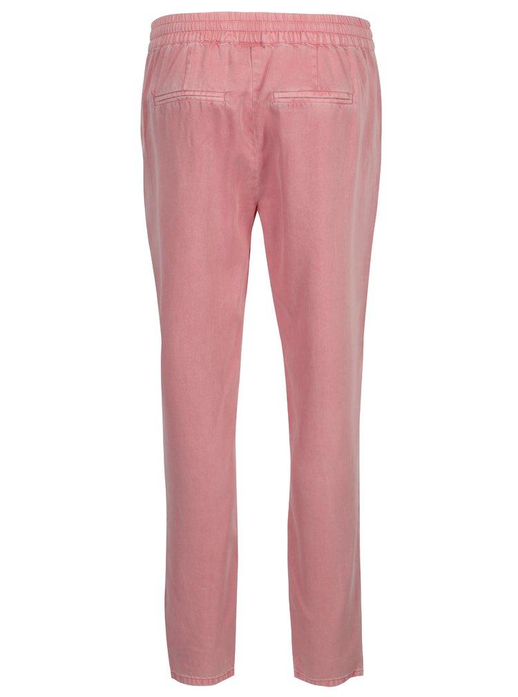 Růžové kalhoty VERO MODA Rory