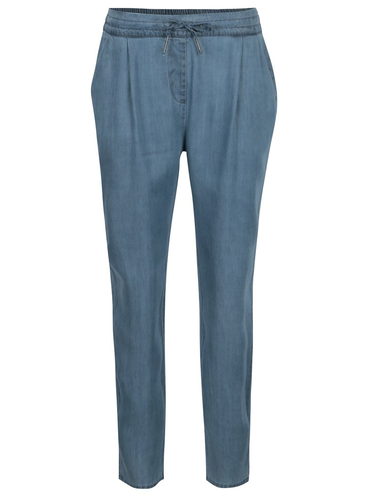 Modré kalhoty VERO MODA Rory